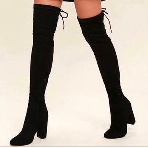 Shoes - Siren Over the Knee Boots